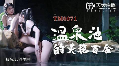 麻豆系列TM0071温泉池的美艳百合精东抓取